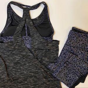 Activewear/Workout Set w/Matching Top & Leggings